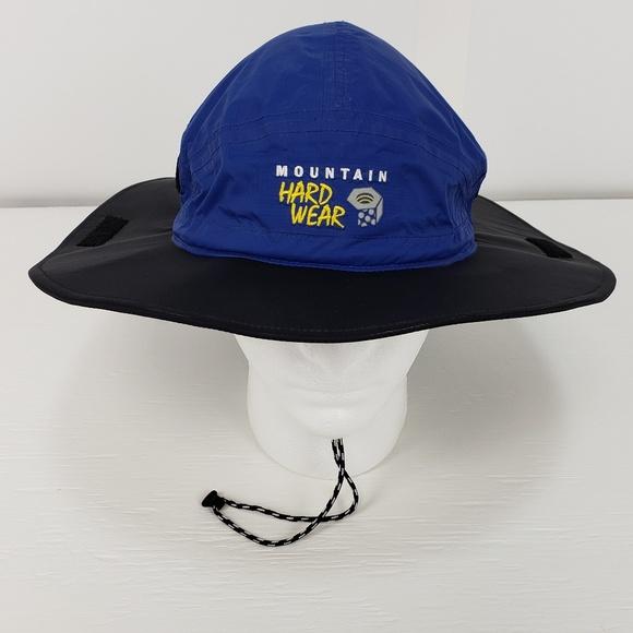 2b93e9111e111 Mountain Hardwear Wide Brim Sun Rain Hat Cap L